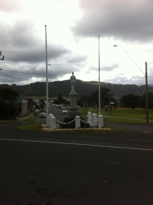 Intersection of Great Ocean Road and Nelson Street