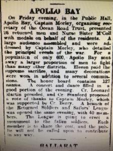 geelong advertiser 1919